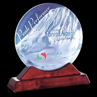 custom full color glass awards